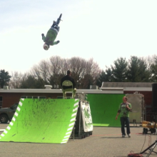 Anti-Bullying School Shows with BMX in Ohio