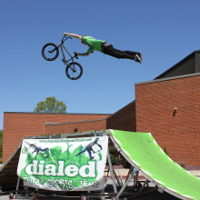 School Assembly BMX Stunt Shows in Ohio
